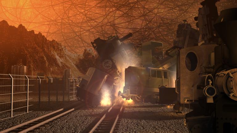Big Tusk Railhead - String City